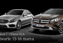 Już w piątek impreza promująca nową klasę Mercedesa / Przygotowania w Akademii Sztuki Kulinarnej już trwają . . .