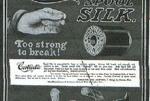 sewing- vintage ads and pics / by Phyllis Closser