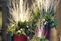 christmas floral arrangments