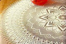 Crochet Table doily, mats
