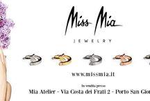 Miss Mia / Anello in argento in cinque versioni con zircone