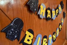 Star Wars Birthday / Star Wars theme for birthday