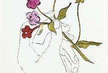 Andy Warhol illustrations