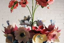 paper flowers / by Sarah Swilley