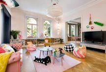 Colorful interiors / Blog posts of La casa de Freja