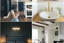 Apartamentos / Inspiração para decoração de apartamentos (blog.moldurapop.com)