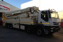 Sales useds and new concrete pumps Spain Bedtrans Company / We have more than 50 concrete pumps in stock with different heights