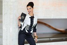 Cannella,collezione PE 2014 / La nuova collezione CANNELLA presenta una donna Determinata, ultrafemminile, chic e raffinata: nella nuova collezione Primavera/Estate '14 impone il suo stile bon ton, ispirato agli anni '50 ma con un'allure moderna.