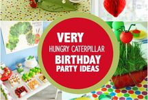 Very hungry caterpillar party/fruit(2 years old Simon)