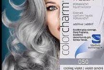 Coloration cheveux blancs