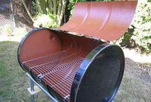 210 litre drums