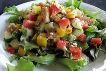 Chicken & Mint Salad with Feta Recipe