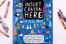Colouring Books / Crayons at the ready... Colouring Books are here!