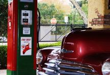 Gas pumps of yesterday / by janice bellefleur