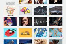 web design inspiration / Referentes e inspiración para Diseño Web realizado en colaboración en clase