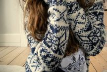 cozy sweater..socks everything that's warm / moda,style