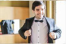 Casamento - Noivos e Padrinhos / Fotografia de Casamento