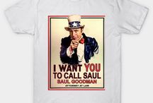 Breaking Bad + Saul T-Shirts