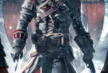 Liam O'Brien / Es un amigo del protagonista y posterior antagonista del juego Assassin's Creed: Rogue. Es considerado el segundo al mando de Achilles y el mejor amigo de Shay Cormac.