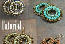 Tutorial beads earrings/perline orecchini