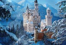 castles; buildings; worlds etc.