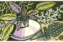 Printmaking / A selection of limited edition prints that inspire us - linocut, wood engraving, screen prints, mono prints and much more