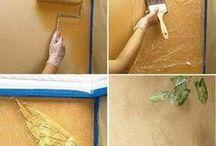 Pinturas paredes y trucos.