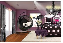 Girls room ideas / by Kat Gawenit