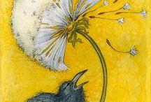 Dandelion Crow