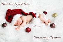 Baby Christmas photography / by Heidi Terbrack