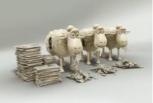 Serta Counting Sheep :) / Fun with the Serta Counting Sheep!