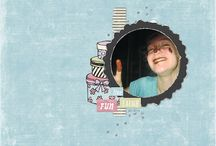 InspiratiOns / Find inspiration for your digital scrapbook layout with Oscraps designers and artists