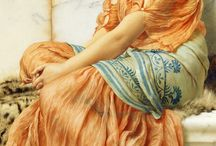 John William Godward / Tableaux du peintre John William Godward