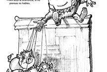 """Exposición ALICIA y TEATRO ARBOLÉ / Teatro Arbolé celebra los 150 años de la publicación del libro de Lewis Carroll """"Alicia en el país de las maravillas"""" con la exposición """"TÍTERES A TRAVÉS DEL ESPEJO"""". Ahora entras en el espejo, en el que todo se hace al revés. Y los títeres de Arbolé son protagonistas de este libro universal. ¡Bienvenidos al Teatro!"""