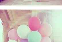 balloons / #balloons #cute #party #birthday