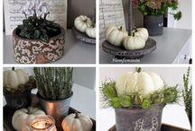 Autumn decorating ideas  by Hemfeminin / Autumn decoration, D.I.Y.