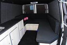 Campingbil interiør ++