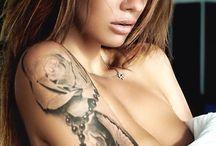 Veronika Vonka - вероника вонка / Veronika Vonka, Wonka, Model, Russia, Tattoos