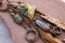 Jewelry / Beadwork, Wirework, PMC, Silversmithing, etc… / by Elen Freelander