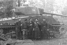 Canadian M4A2E8 - 1940's-50's