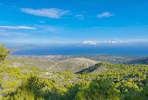 mountain PENTELI Attiki Hellas