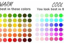 Jewellery & Color Seasons / We each have a color season of warm or cool colors based on our natural eye, hair and skin color.So which are you and what colors can you wear best? Go down to find out!
