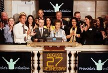 Frankie Rings the NYSE Bell!