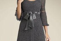 Virkade klänningar