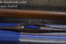 Handvävda Sjalar / I Laos lever hantverket! Handvävda & växtfärgade sidensjalar