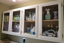 Decor: Laundry / Ideas for a functional and organized laundry room / by Sarah Elizabeth