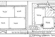 layout scrapbooking