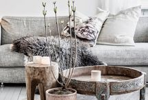 Loving Living / Scandinavian and french style, natural home design
