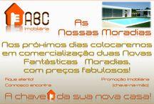 Duas novas moradias para comercialização / Consulte as nossas novas ofertas através do nosso site: www.abc-imobiliaria.pt ou www.casasabc.pt
