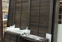 Special Projects / Plantation Shutters can be used in all sorts of creative ways.